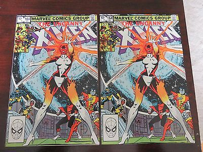 The Uncanny X-Men #164 (Dec 1982, Marvel) VF+ condition TWO available