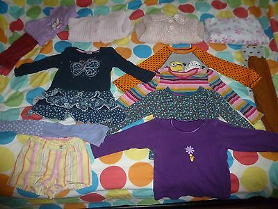 Girls clothes bundle age 2-3 years x 14 items