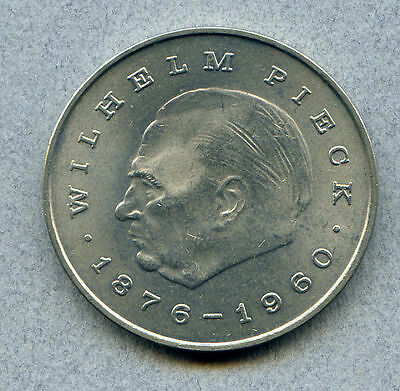 German Democratic Rep. 20 M 1972 Brilliant Uncirculated KM 42 Wilhelm Pieck