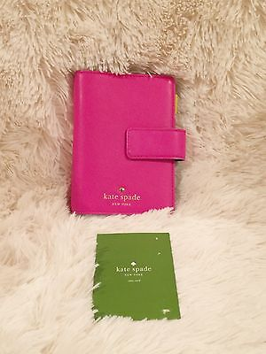 Kate Spade Pocket Planner | Pink and Turquoise | Used Condition