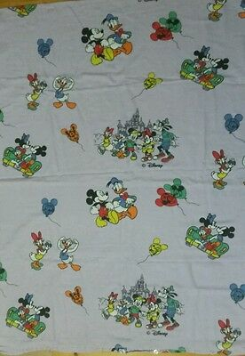 Disney Bettwäsche bedding Micky Mickey Minnie Mouse 80s 90s fabric bedlinen