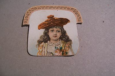 Vintage Victorian Trade card Paragon Shoe Bently & Olmsted Shoe Insert