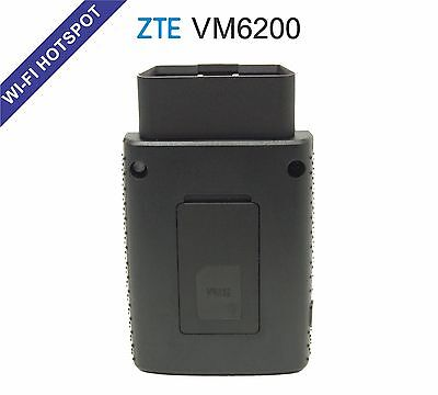 ZTE VM6200 - Mobile 4G LTE Wi-Fi Hotspot OBD Device with 1GB Data Plan (Bell)