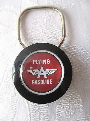 **Vintage FLYING A GASOLINE KEY CHAIN - Exc Condition**