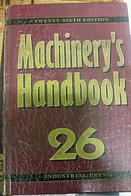 Machinist handbook 26th edition