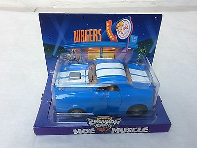 """The Chevron Cars Collectibles """"Moe Muscle"""" 2009 New & Sealed"""
