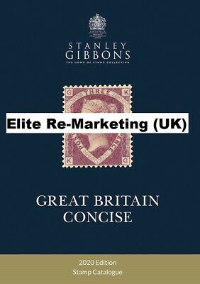 GB - 2018 Hard Back Stanley Gibbons Great Britain Concise Catalogue(NEW)