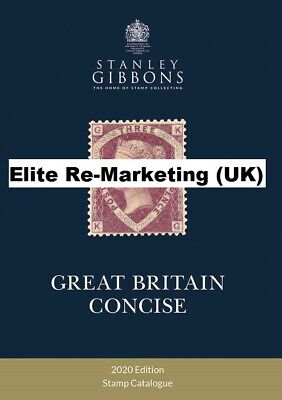 GB-Pre-Order 2018 Hard Back Stanley Gibbons Great Britain Concise Catalogue(NEW)