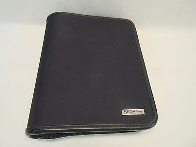 """Franklin Covey Day Planner 6-1 1/4"""" Ring Binder 8 1/2 by 7"""" Zippered"""
