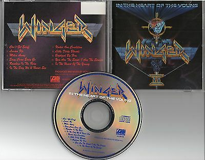 WINGER-In the Heart of the Young CD (1990) COLUMBIA HOUSE A2-82103 MHR / GLAM