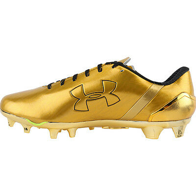 Brand New Under Armour Spotlight L.E. (GOLD) Football Cleats Cleats Sizes 8-15