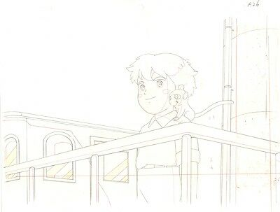 Anime Genga not Cel Marco 3000 Leagues in Search of Mother #2