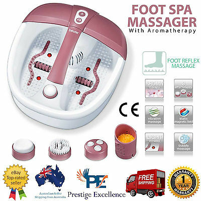 New Foot Spa Massager Roller Massage Reflexology Relax Care Relief Pedicure Bath