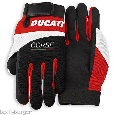 DUCATI Corse PITLANE mechanics Working Gloves Fabric Gloves NEW