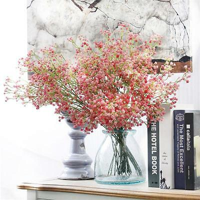 Artificial Floral Silk Flowers Fake Flower Bouquet Wedding Decoration Home Decor