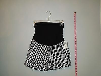 Womens, Motherhood Maternity, Shorts, Size XS, Black, White