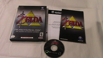 Legend of Zelda Collector's Edition Nintendo GameCube Video Game Complete