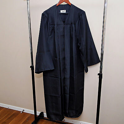 NEW - Jostens Black Graduation Gown Robe - Many Sizes - Unisex Mens Womens