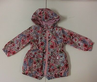 Girls Next 18-24 Months Floral Print Coat/Jacket