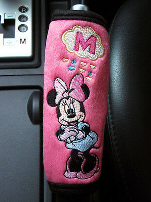 Minnie Mouse Disney Car Accessory #Pink : Hand Brake, Side Brake, Handle Cover
