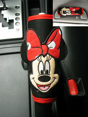Minnie Mouse Disney Car Accessory #Red : Hand Brake Side Brake, Handle Cover
