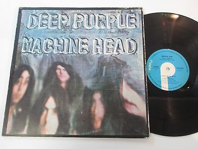 LP/DEEP PURPLE/MACHINE HEAD/TPSA 7504 FOC +OIS/ KOREA / MEGARAR BLUE Label