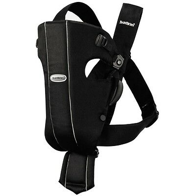 **BRAND NEW** BabyBjorn Baby Carrier Original in Black, Cotton, Sling Wrap