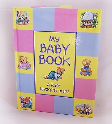 Treasured Memories My Baby Book - First Five Year Baby Record Book, multicolour
