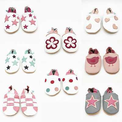 *SECONDS* Dotty Fish Soft Leather Baby and Toddler Shoes