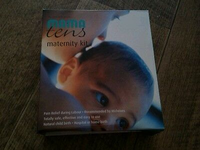 Mamatens maternity kit TENS machine,labour pain relief used once