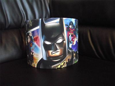 "Lego Batman  D3 10"" Drum Ceiling Lampshade Lightshade"