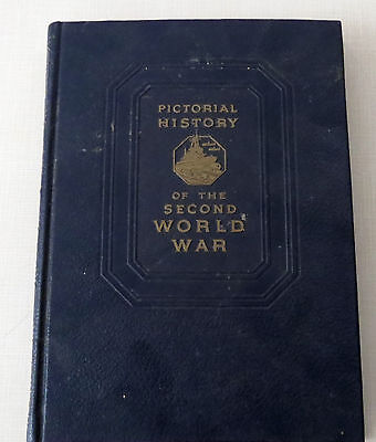 Pictoral History of the Second World War, volume 3, 1949, hardcover vintage