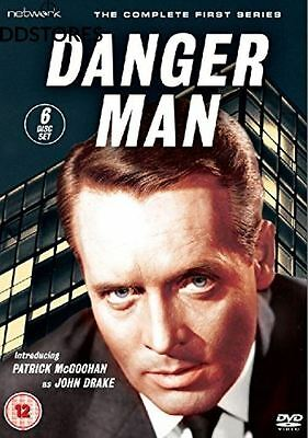 Danger Man The Complete Series 1 Import anglais