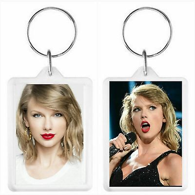 Taylor Swift Key Ring 50 x 35mm. Donation made to Charity.