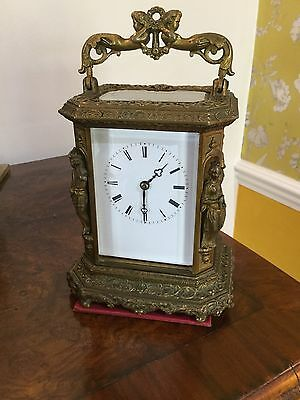 Fine Quality Striking Carriage Clock By Japy Freres 1850