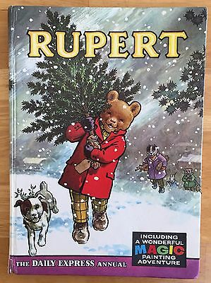RUPERT ORIGINAL ANNUAL 1965 Inscribed Price Intact  Magic Paintings 95% Undone