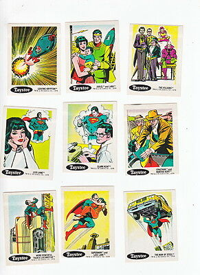 1978 Taystee DC Comics Stickers Full Set – 1-30 – Batman – Superman – The Jok...