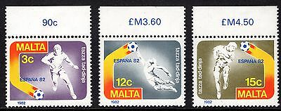 Malta 1982 World Football Championships Complete Set SG694 - 6 Unmounted Mint