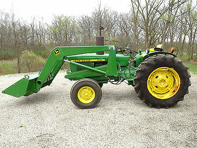 John Deere 1020 Diesel Tractor with Loader Excellent Used Condition 2,800 Hours