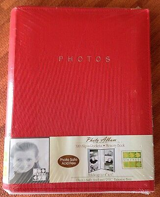 """SIXTREES 300 Slip-In-Pockets Photo Album/Memory Book Holds Up To 4""""x6"""""""