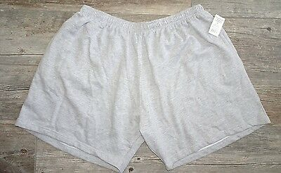New No Brand Fleece Shorts with pockets - Gray - 5X, 6X