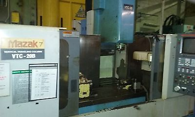 Mazak VTC-20B  CNC Vertical Machining Center with Rotary table 4 Axis 1997