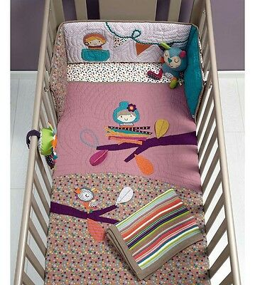 Brand new mamas and papas timbuktales pink coverlet rrp £86.95 free del
