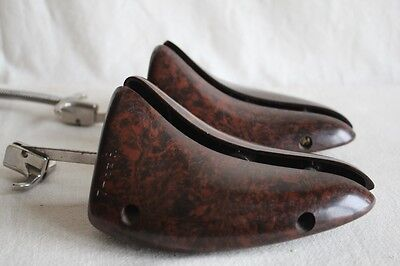 Vintage BAKELITE Shoe Stretcher Pair 7 to 8 1/2 - Right & Left - Early 20th C.