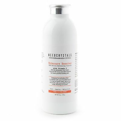 NeedCrystals Microdermabrasion Crystals with Vitamin C (8 oz)