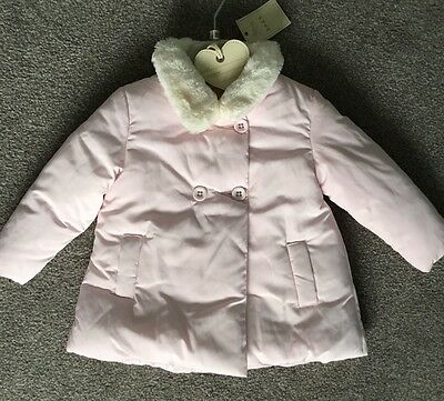 NEXT Age 12-18 Months Baby Girls Pink Padded Coat ❤️New With Tags £17