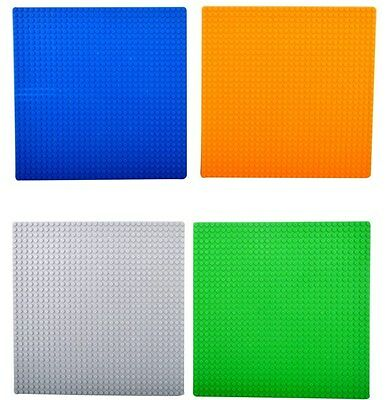 Large 32 x 32 Studs 25.5 x 25.5cm BASE PLATE Compatible Construction Blocks UK