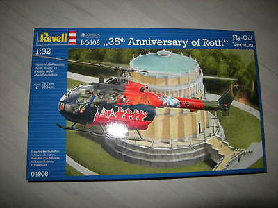 1:32 Revell Airbus BO105 35th Anniversary of Roth Fly Out Version Nr. 04906 OVP