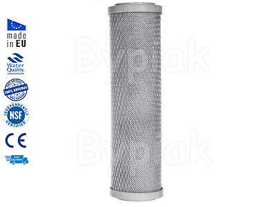 """Activated carbon block water filter replacement 10"""" x 2.5"""" cartridge"""