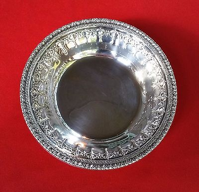 """Beautiful Reed & Barton Silverplate / Silver Plate Candy / Nut Serving Dish 6"""""""